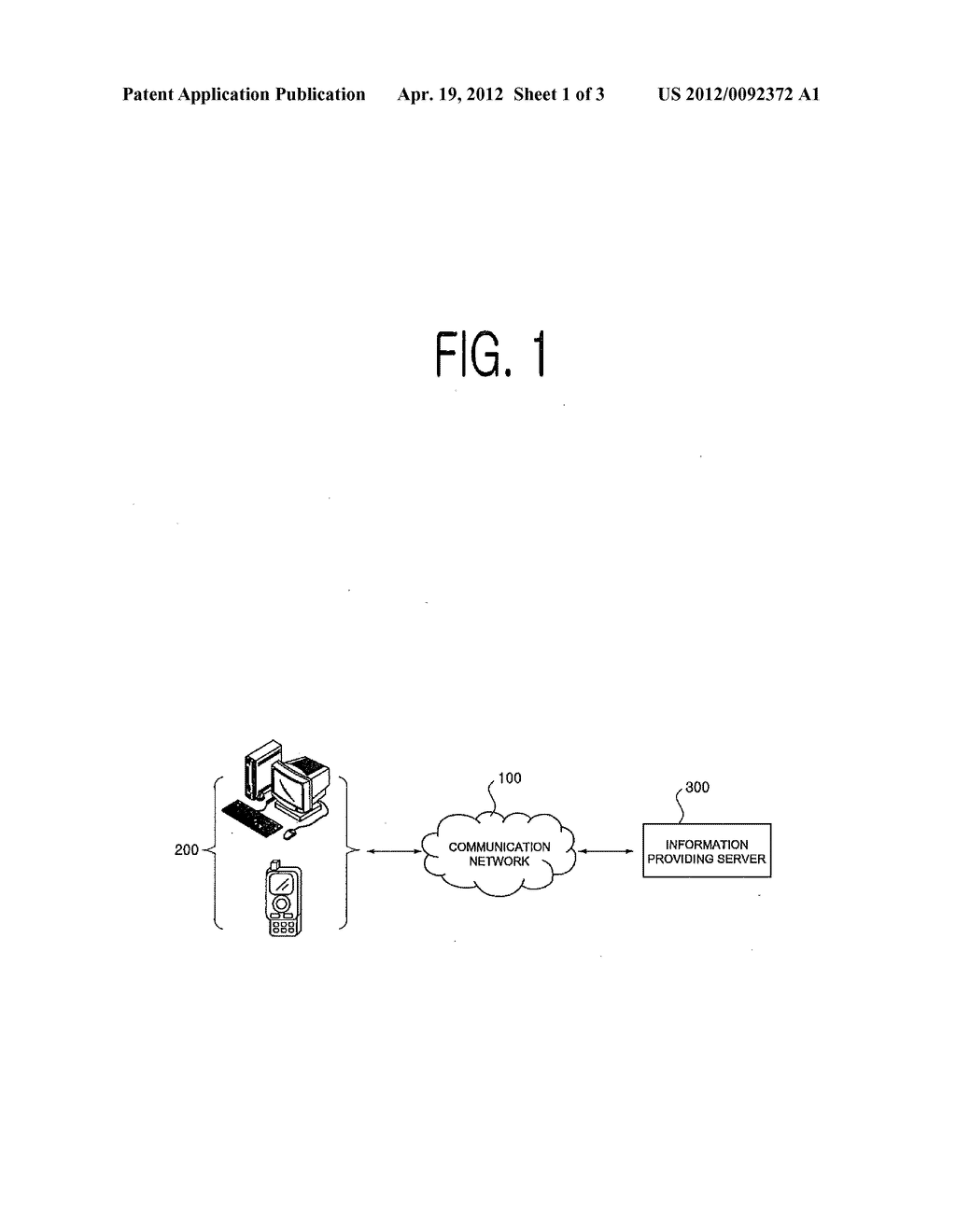 METHOD FOR PROVIDING INFORMATION ON OBJECT WITHIN VIEW OF TERMINAL DEVICE,     TERMINAL DEVICE FOR SAME AND COMPUTER-READABLE RECORDING MEDIUM - diagram, schematic, and image 02