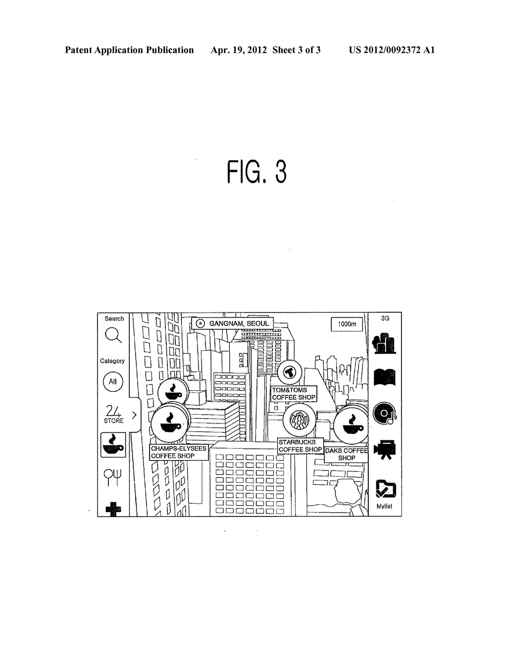METHOD FOR PROVIDING INFORMATION ON OBJECT WITHIN VIEW OF TERMINAL DEVICE,     TERMINAL DEVICE FOR SAME AND COMPUTER-READABLE RECORDING MEDIUM - diagram, schematic, and image 04