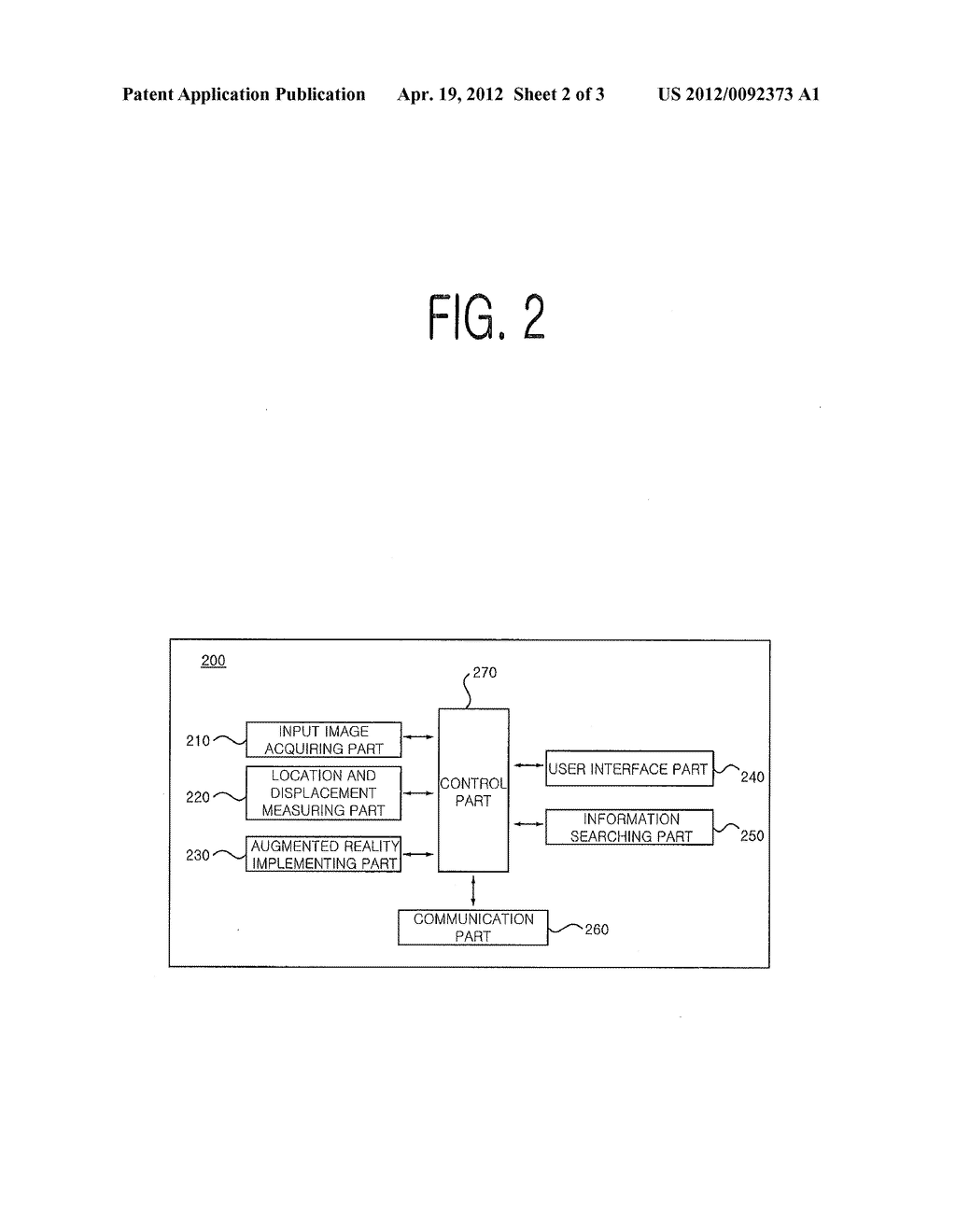 METHOD FOR PROVIDING INFORMATION ON OBJECT WHICH IS NOT INCLUDED IN VISUAL     FIELD OF TERMINAL DEVICE, TERMINAL DEVICE AND COMPUTER READABLE RECORDING     MEDIUM - diagram, schematic, and image 03