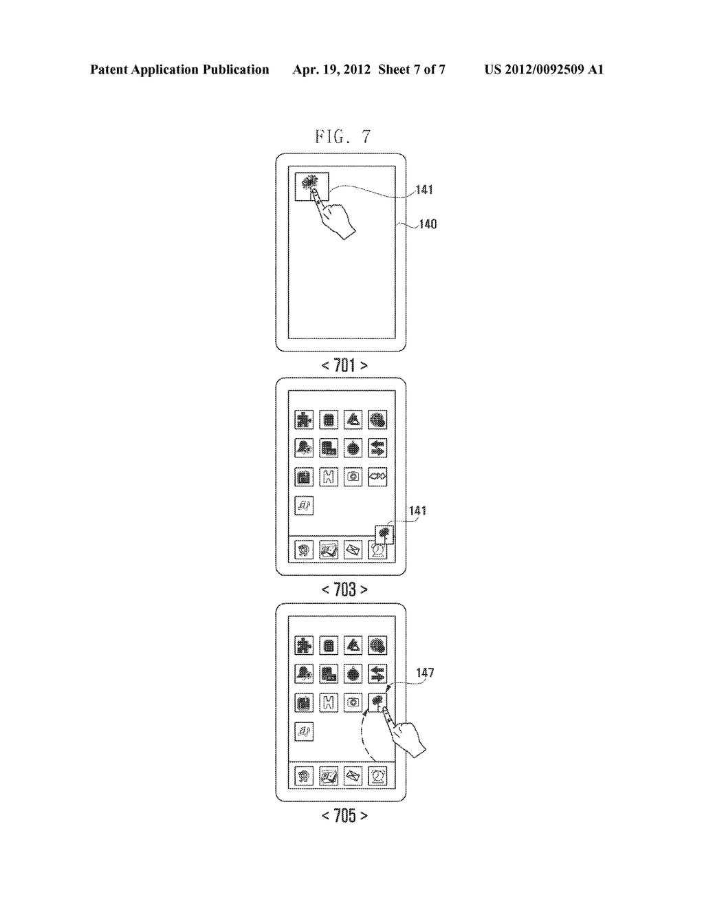 METHOD OF EXECUTING FAST ASSOCIATION FUNCTION OF CAMERA AND PORTABLE     DEVICE INCLUDING THE SAME - diagram, schematic, and image 08