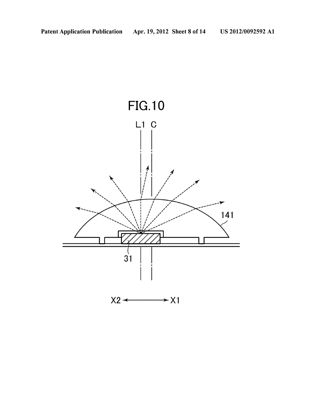BACKLIGHT UNIT AND LIQUID CRYSTAL DISPLAY DEVICE HAVING THE SAME - diagram, schematic, and image 09