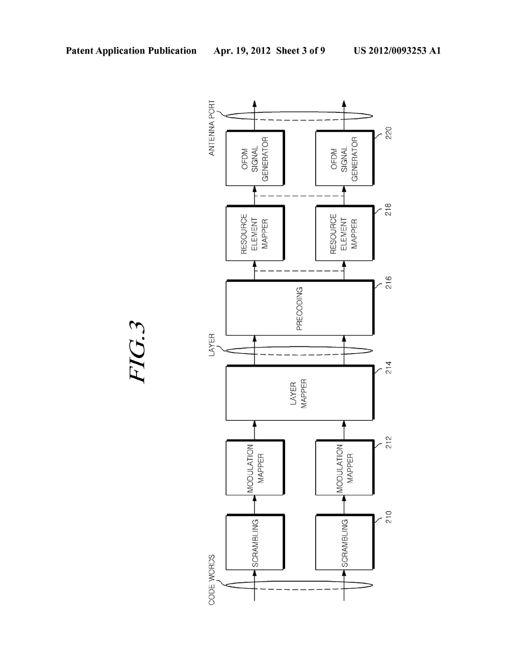 POWER ALLOCATION METHOD FOR WIRELESS COMMUNICATION SYSTEM, APPARATUS FOR     SAME, AND TRANSCEIVER DEVICE USING THIS FORM OF SIGNAL TRANSMISSION - diagram, schematic, and image 04