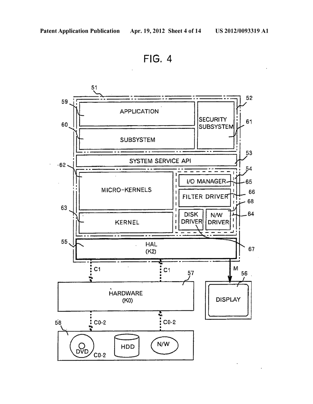 METHOD AND APPARATUS FOR PROTECTING DIGITAL DATA BY DOUBLE RE-ENCRYPTION - diagram, schematic, and image 05