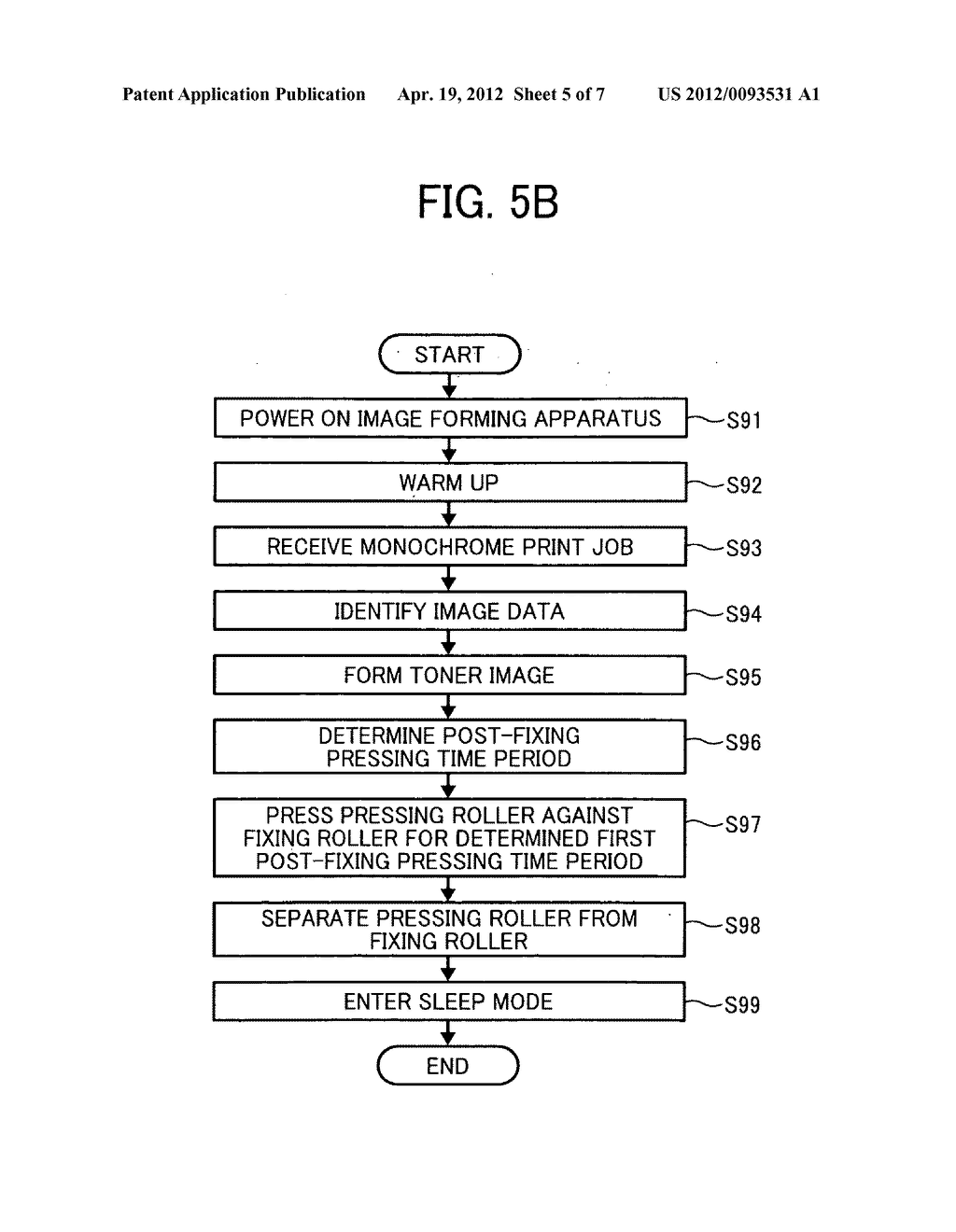 Image forming apparatus and method for forming toner image on recording     medium - diagram, schematic, and image 06