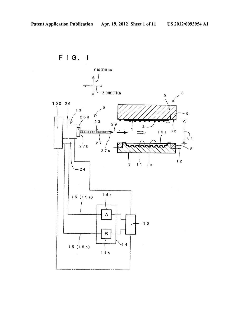 COMPRESSION MOLDING METHOD FOR ELECTRONIC COMPONENT AND COMPRESSION     MOLDING APPARATUS EMPLOYED THEREFOR - diagram, schematic, and image 02