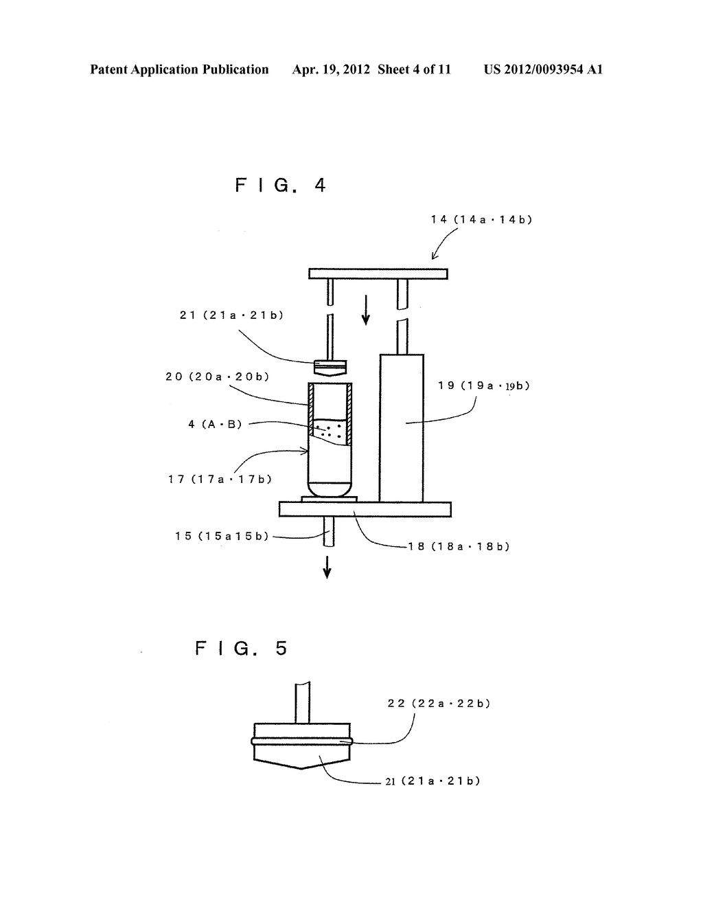 COMPRESSION MOLDING METHOD FOR ELECTRONIC COMPONENT AND COMPRESSION     MOLDING APPARATUS EMPLOYED THEREFOR - diagram, schematic, and image 05