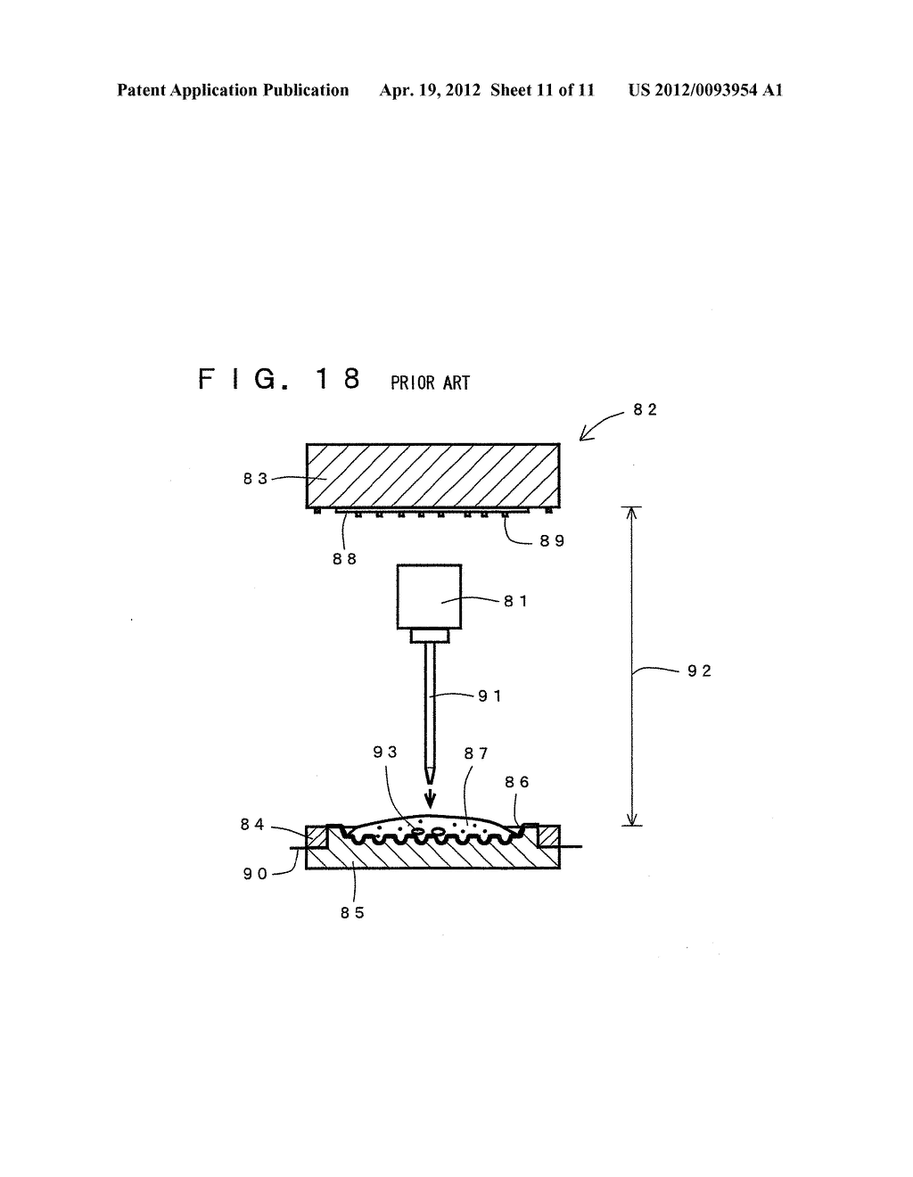 COMPRESSION MOLDING METHOD FOR ELECTRONIC COMPONENT AND COMPRESSION     MOLDING APPARATUS EMPLOYED THEREFOR - diagram, schematic, and image 12