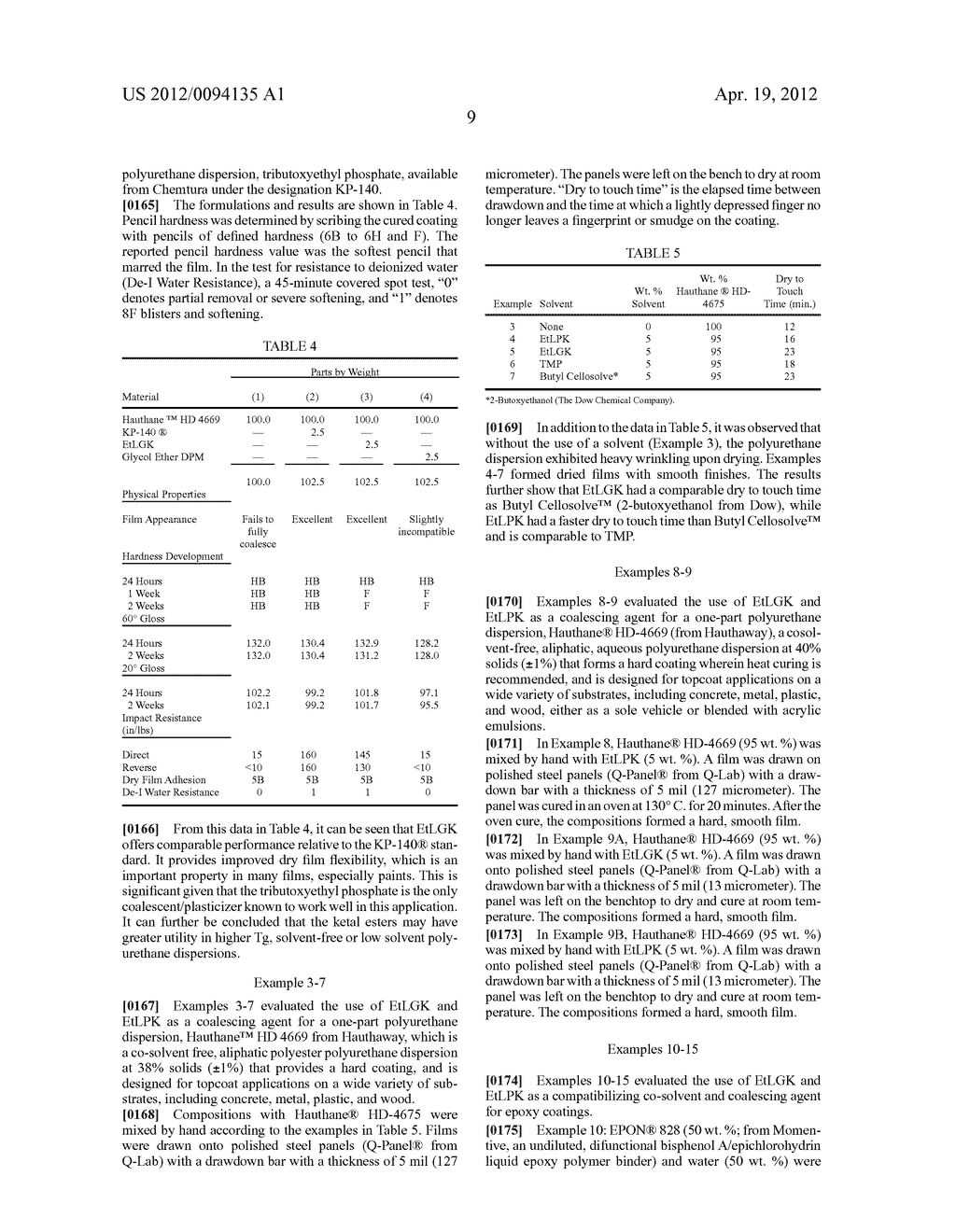 WATER REDUCIBLE COATING COMPOSITIONS INCLUDING CARBOXY ESTER KETALS,     METHODS OF MANUFACTURE, AND USES THEREOF - diagram, schematic, and image 14