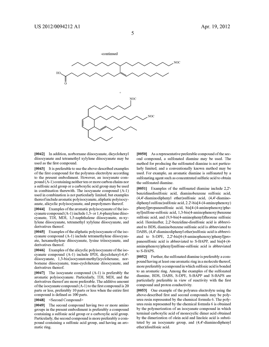 POLYUREA ELECTROLYTE AND METHOD FOR MANUFACTURING THE SAME - diagram, schematic, and image 08