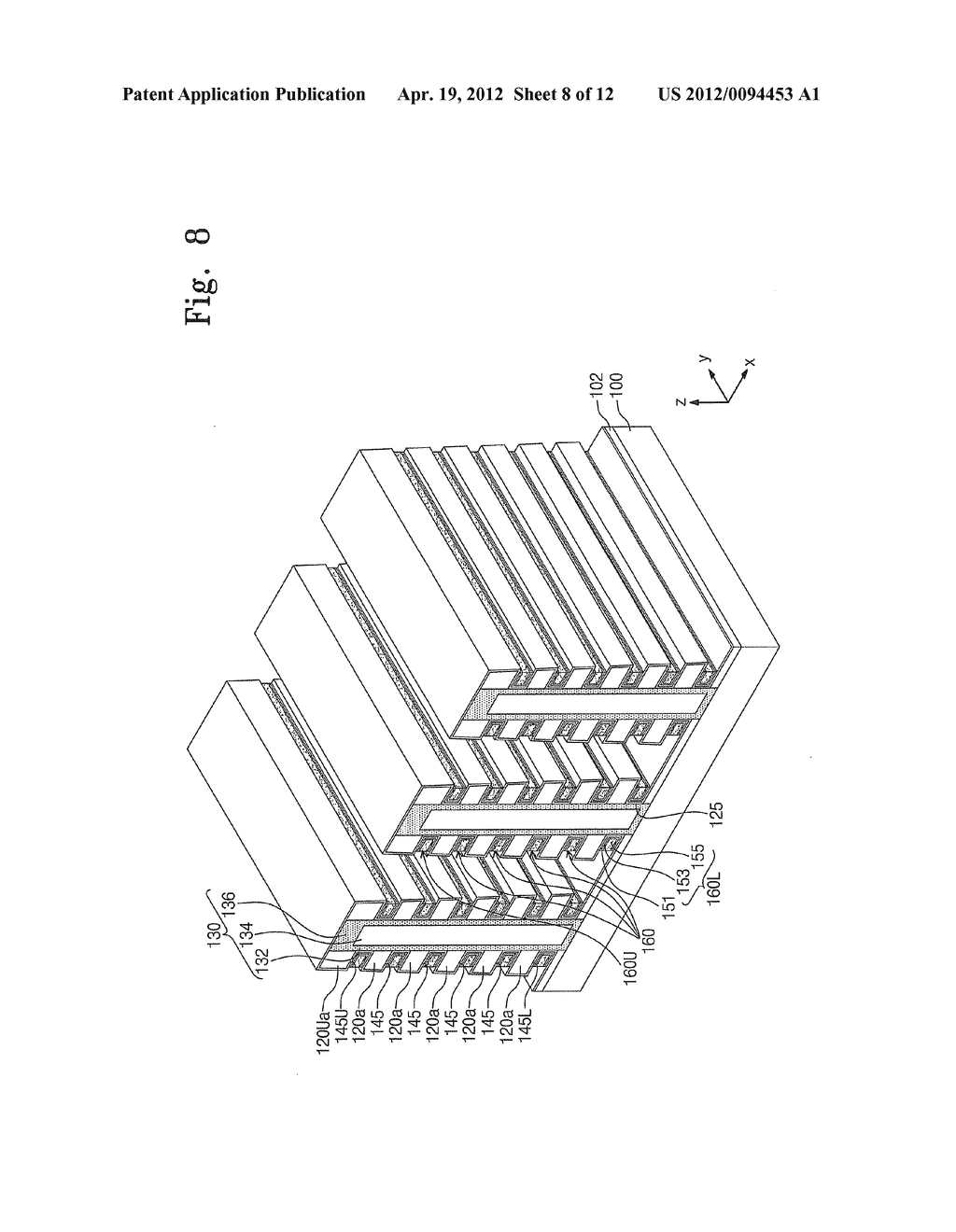 Semiconductor Devices And Methods Of Fabricating The Same - diagram, schematic, and image 09