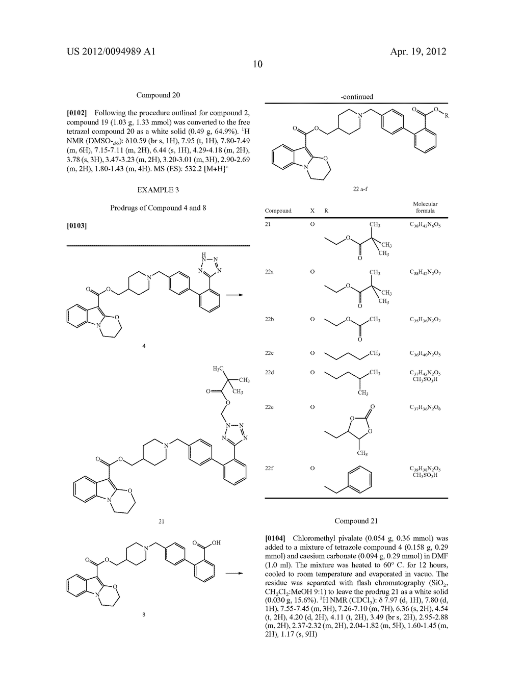 5-HT RECEPTOR MODULATING COMPOUNDS - diagram, schematic, and image 11