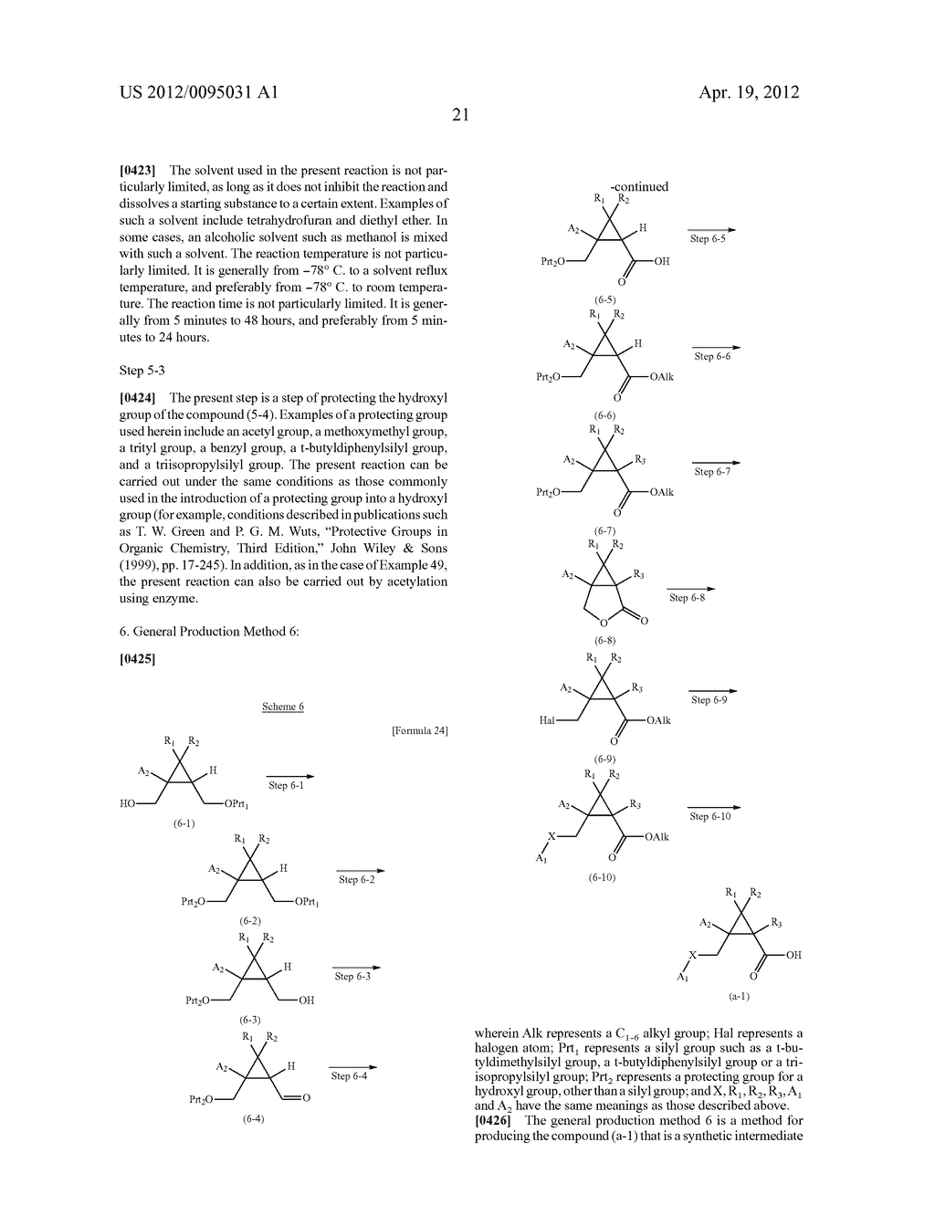 CYCLOPROPANE COMPOUND - diagram, schematic, and image 23