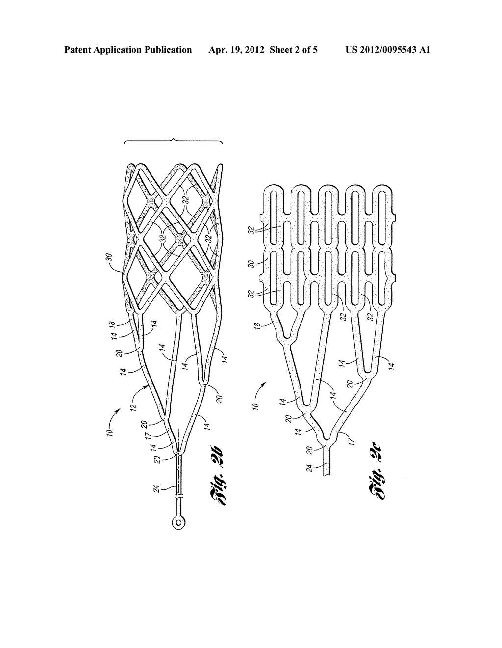 RETRIEVABLE DEVICE HAVING A RETICULATION PORTION WITH STAGGERED STRUTS - diagram, schematic, and image 03