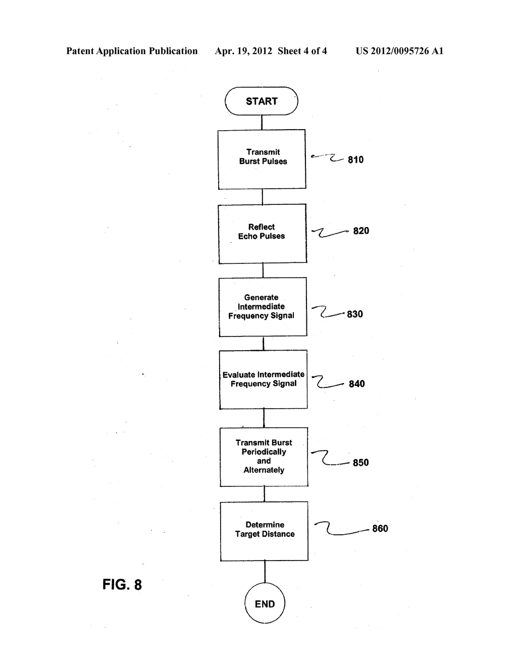 System and Method for Pulse-Echo Ranging - diagram, schematic, and image 05