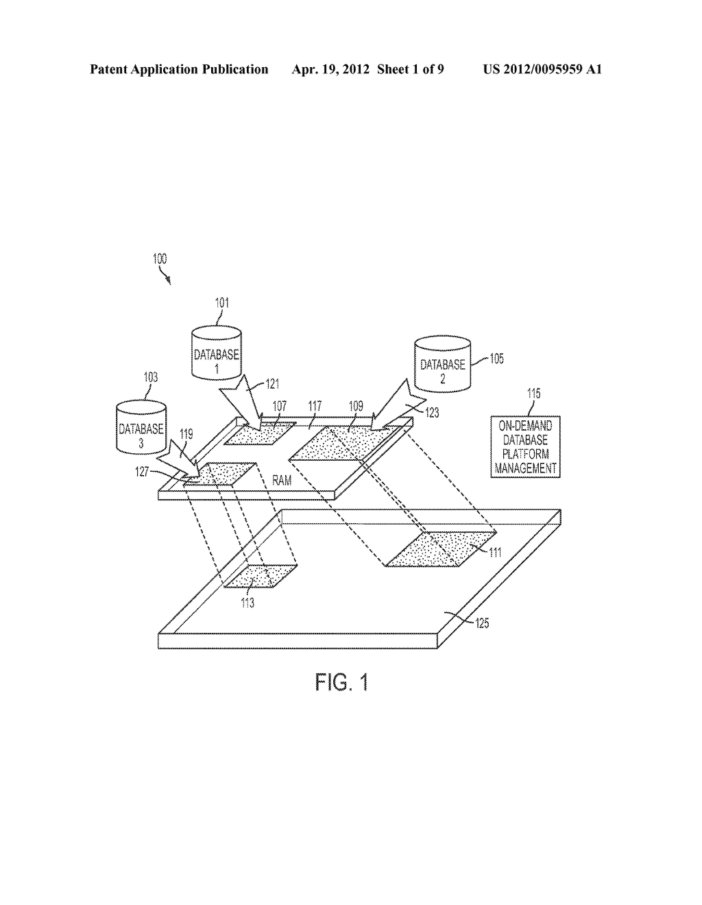 Apparatus and Method for On-Demand In-Memory Database Management Platform - diagram, schematic, and image 02
