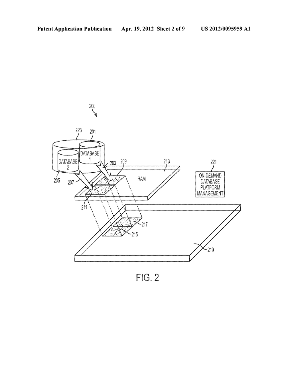 Apparatus and Method for On-Demand In-Memory Database Management Platform - diagram, schematic, and image 03