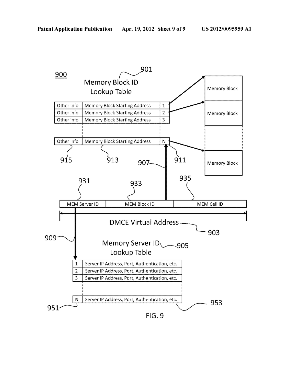 Apparatus and Method for On-Demand In-Memory Database Management Platform - diagram, schematic, and image 10