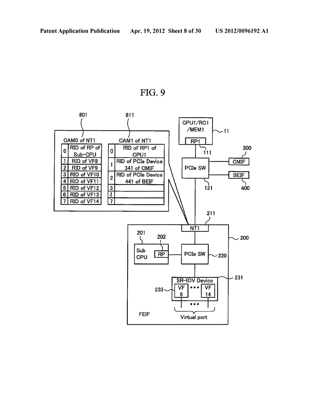STORAGE APPARATUS AND VIRTUAL PORT MIGRATION METHOD FOR STORAGE APPARATUS - diagram, schematic, and image 09