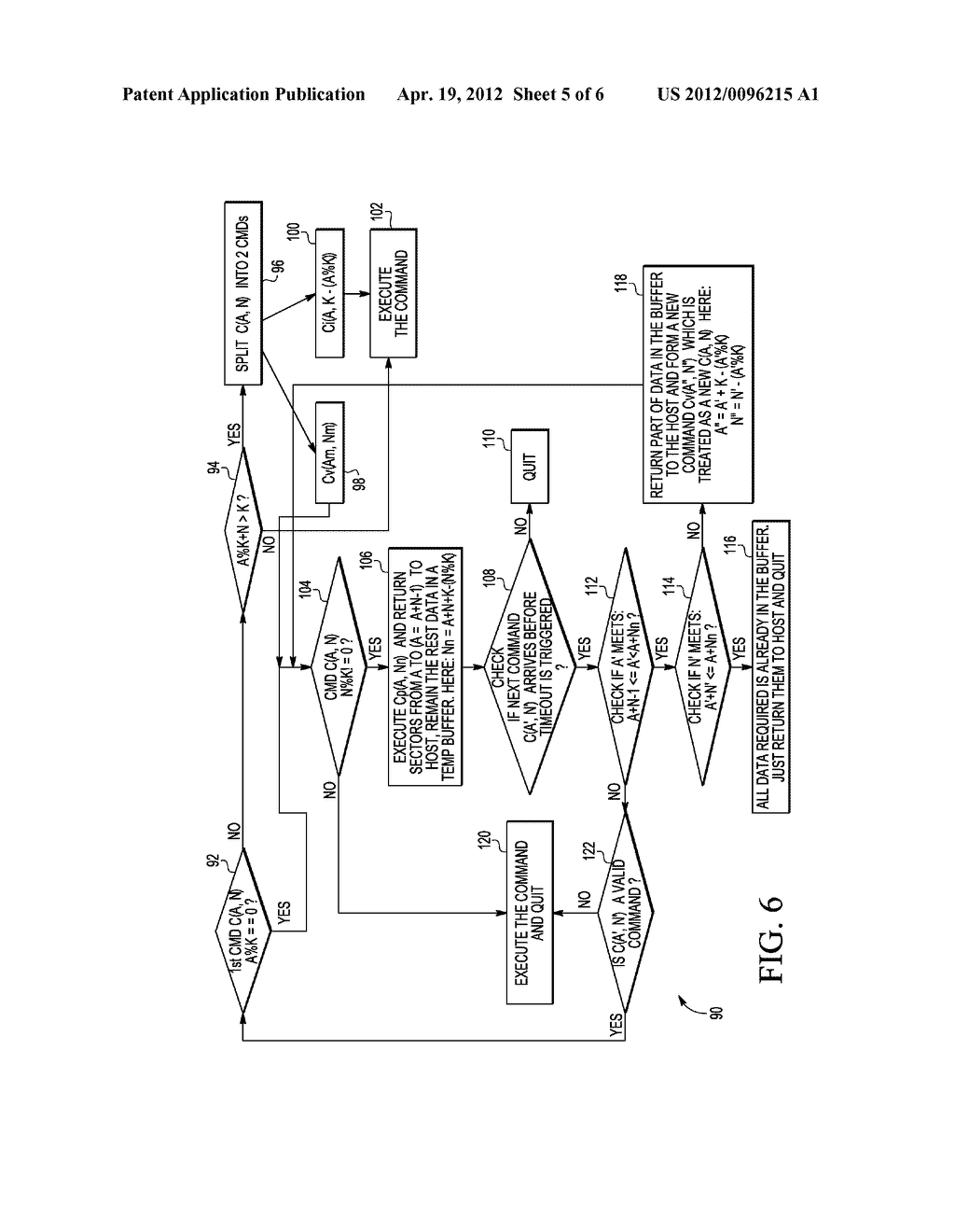 MEMORY CONTROLLER AND METHOD FOR ACCESSING A PLURALITY OF NON-VOLATILE     MEMORY ARRAYS - diagram, schematic, and image 06
