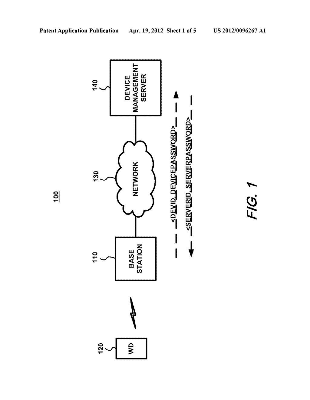 CREDENTIAL GENERATION SYSTEM AND METHOD FOR COMMUNICATIONS DEVICES AND     DEVICE MANAGEMENT SERVERS - diagram, schematic, and image 02