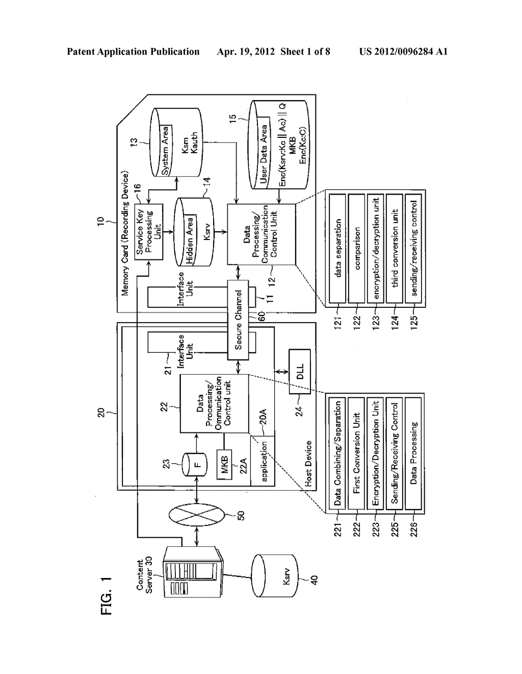 CONTENT DATA REPRODUCTION SYSTEM AND RECORDING DEVICE - diagram, schematic, and image 02