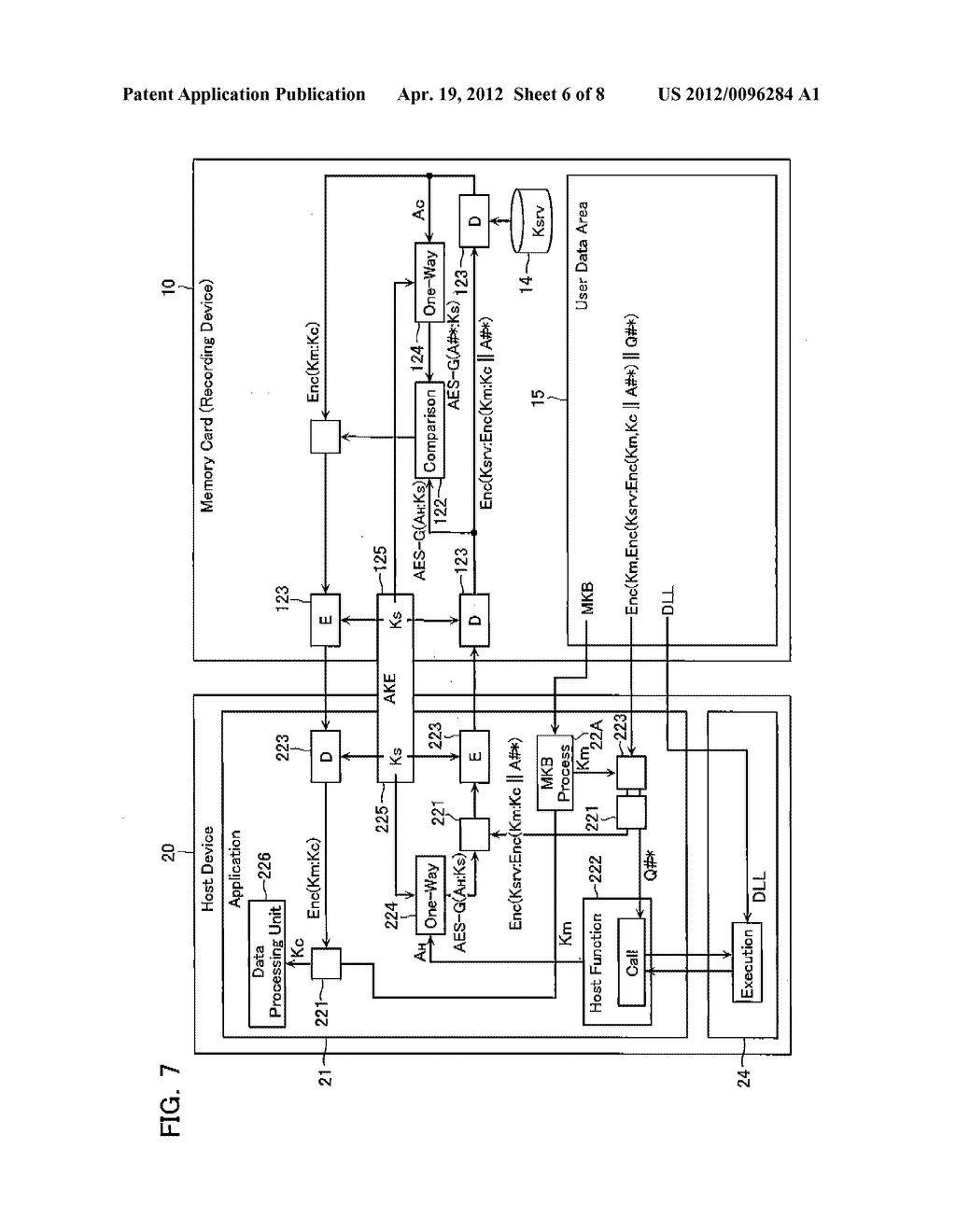 CONTENT DATA REPRODUCTION SYSTEM AND RECORDING DEVICE - diagram, schematic, and image 07