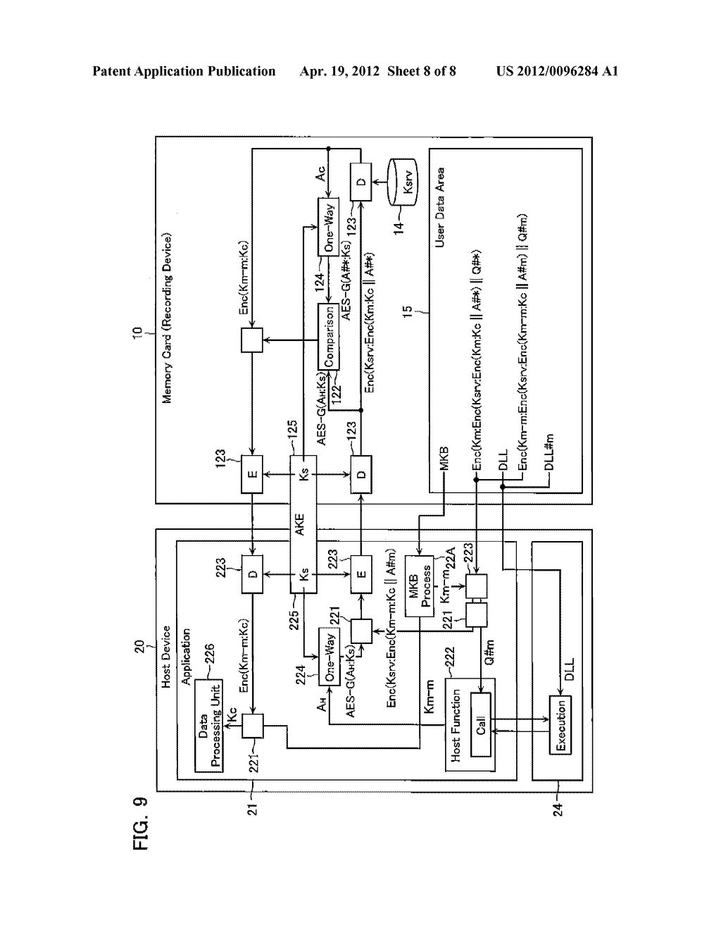 CONTENT DATA REPRODUCTION SYSTEM AND RECORDING DEVICE - diagram, schematic, and image 09