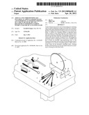 ARTICLE AND CORRESPONDING KIT INCLUDING AN ARTICLE FOR RECEIVING AND     SUPPORTING AN INSERTING PORTION OF A CIRCULAR SAW BLADE AND A ROUTER BIT     IN IMMERSING FASHION WITHIN A VOLUME OF A CLEANING FLUID diagram and image