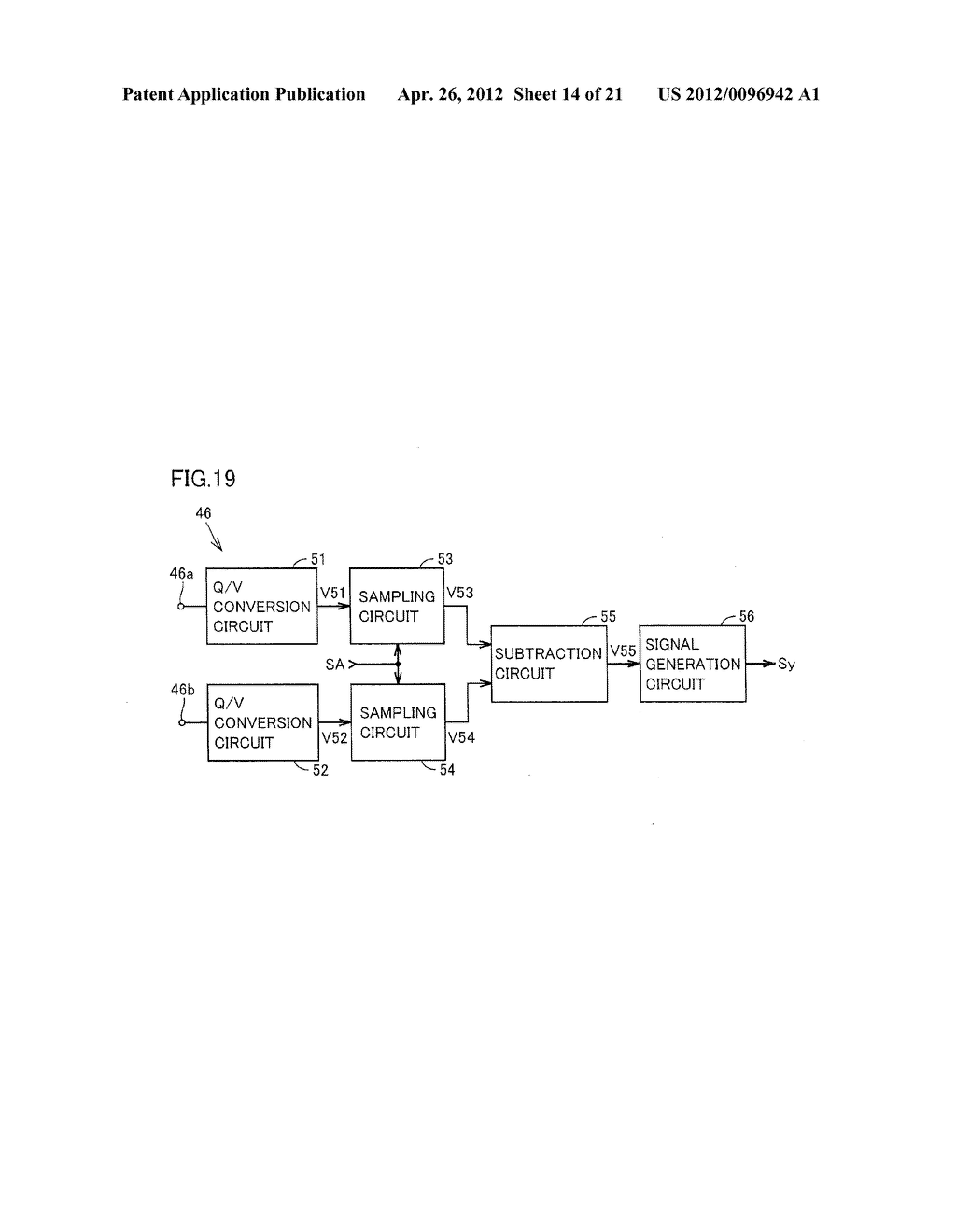 ANGULAR VELOCITY SENSOR AND SYNCHRONOUS DETECTION CIRCUIT USED THEREIN - diagram, schematic, and image 15