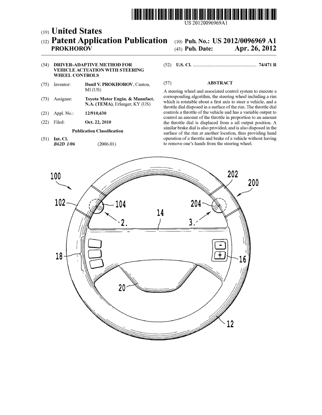 driver adaptive method for vehicle actuation with steering wheel rh patentsencyclopedia com f1 steering wheel diagram steering wheel diagram for a 1994 ford f 150