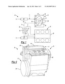ENGINE ASSEMBLY INCLUDING ROTARY ENGINE PROVIDING EXHAUST GAS     RECIRCULATION TO PRIMARY ENGINE diagram and image