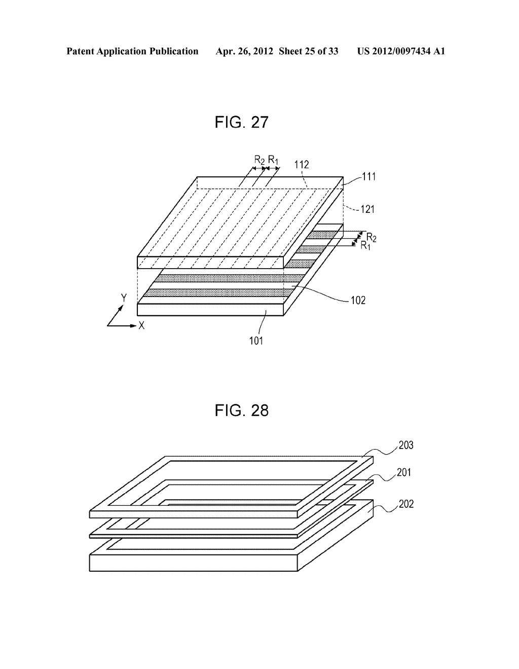 ELECTROCONDUCTIVE ELEMENT, ELECTROCONDUCTIVE ELEMENT MANUFACTURING METHOD,     WIRING ELEMENT, INFORMATION INPUT DEVICE, DISPLAY DEVICE, AND ELECTRONIC     APPARATUS - diagram, schematic, and image 26