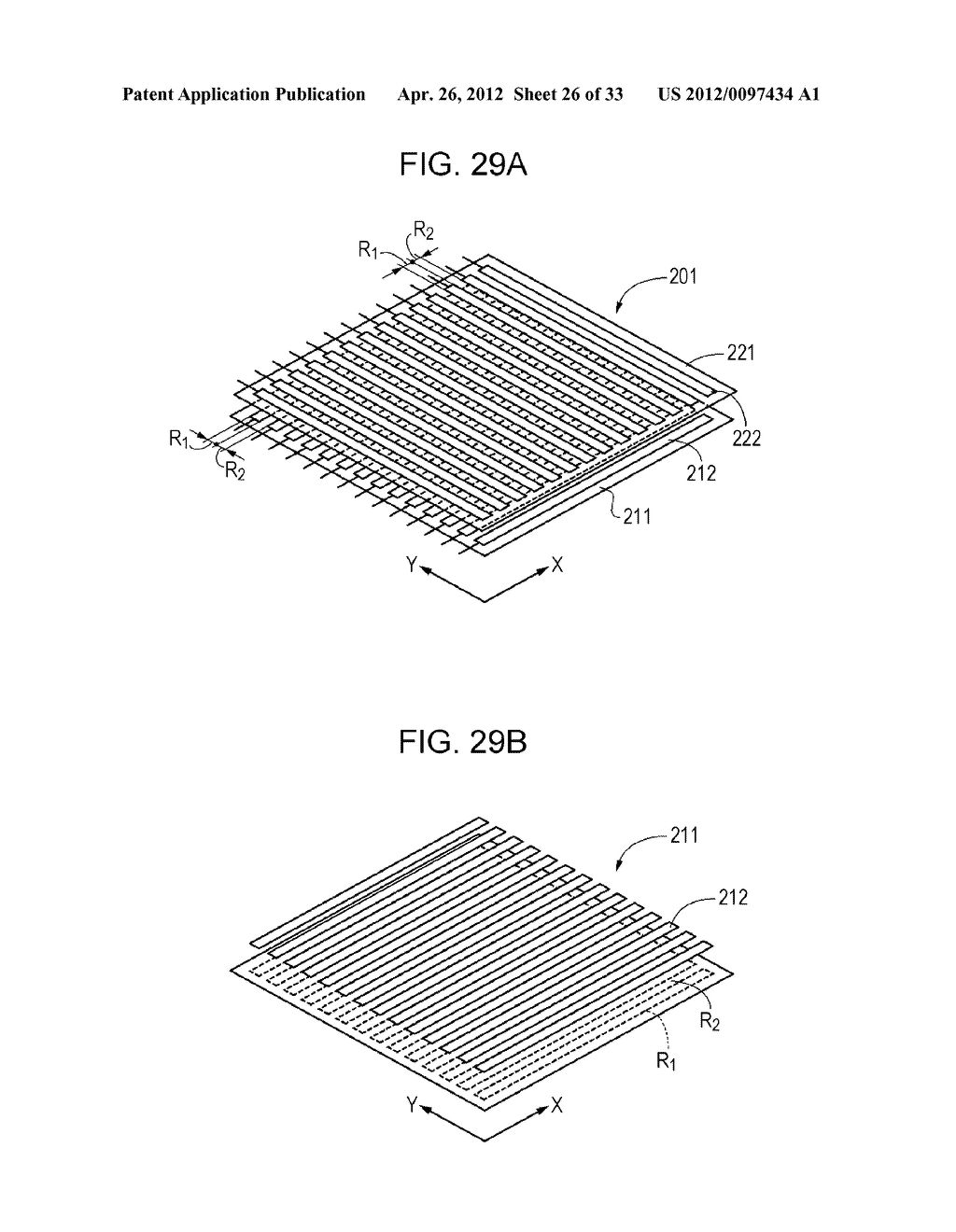 ELECTROCONDUCTIVE ELEMENT, ELECTROCONDUCTIVE ELEMENT MANUFACTURING METHOD,     WIRING ELEMENT, INFORMATION INPUT DEVICE, DISPLAY DEVICE, AND ELECTRONIC     APPARATUS - diagram, schematic, and image 27