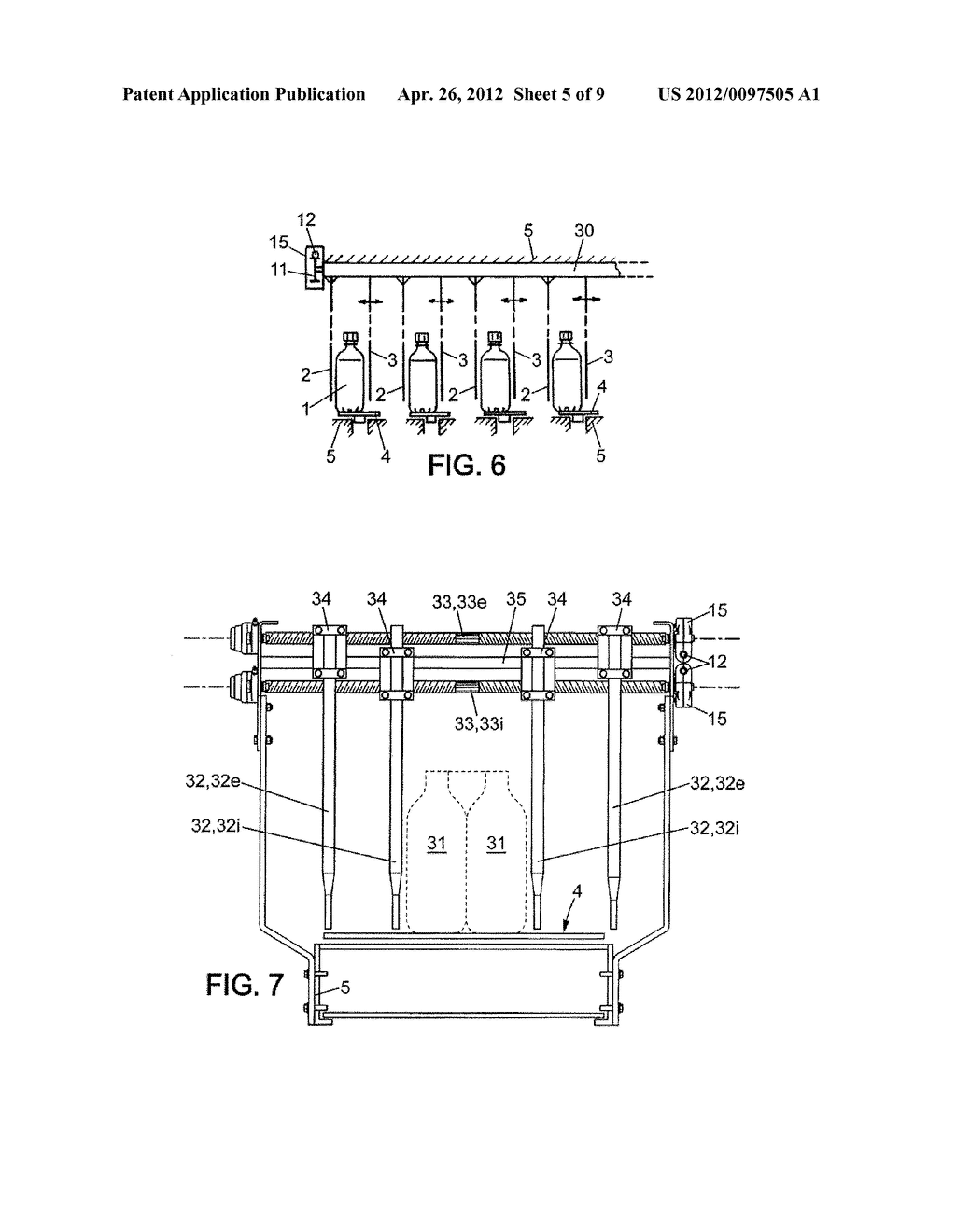 WIDTH-ADJUSTING DEVICE FOR CONVEYOR CORRIDOR(S) - diagram, schematic, and image 06
