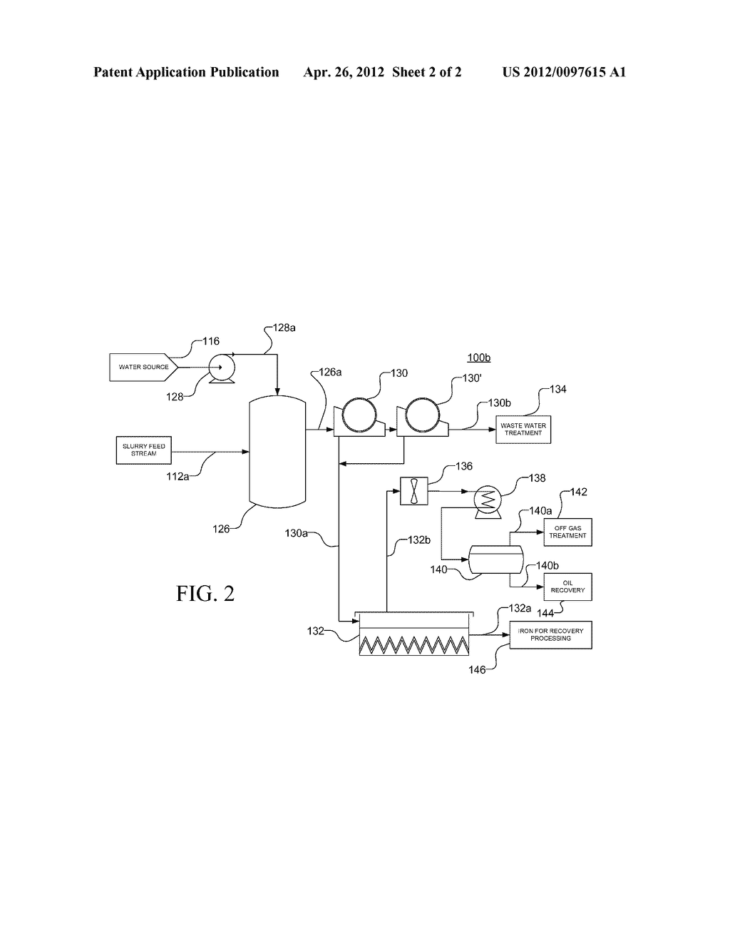 Method and Apparatus for De-Oiling Magnetic Solid Waste - diagram, schematic, and image 03