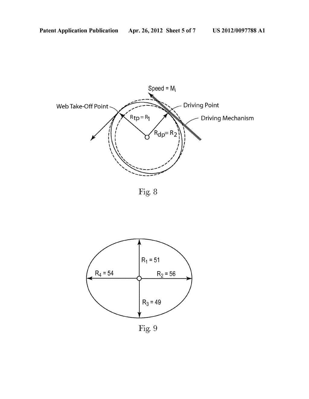 ALTERNATIVE APPARATUS FOR REDUCING WEB FEED RATE VARIATIONS INDUCED BY     PARENT ROLL GEOMETRY VARIATIONS - diagram, schematic, and image 06