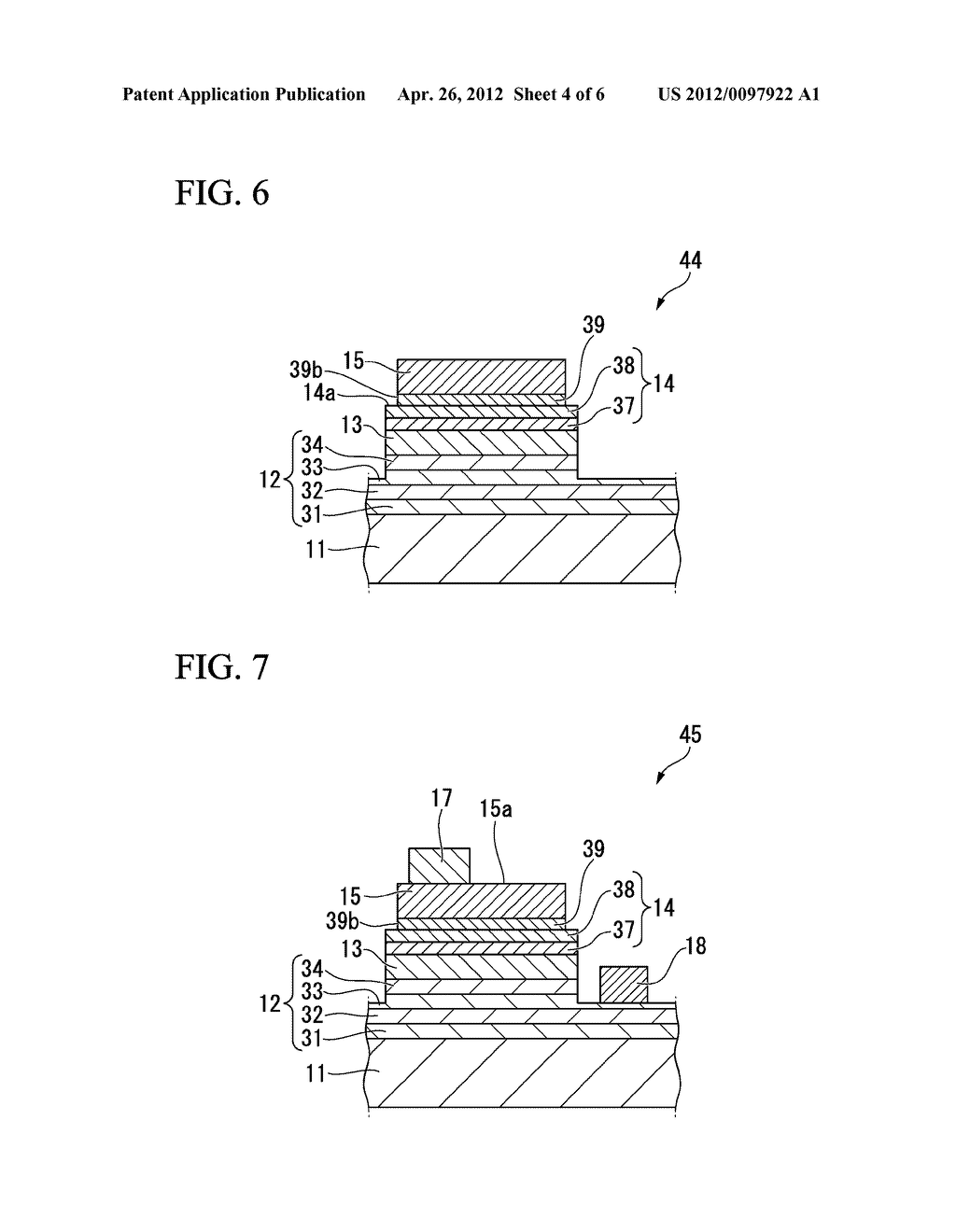 LIGHT EMITTING ELEMENT, METHOD OF PRODUCING SAME, LAMP, ELECTRONIC     EQUIPMENT, AND MECHINICAL APPARATUS - diagram, schematic, and image 05