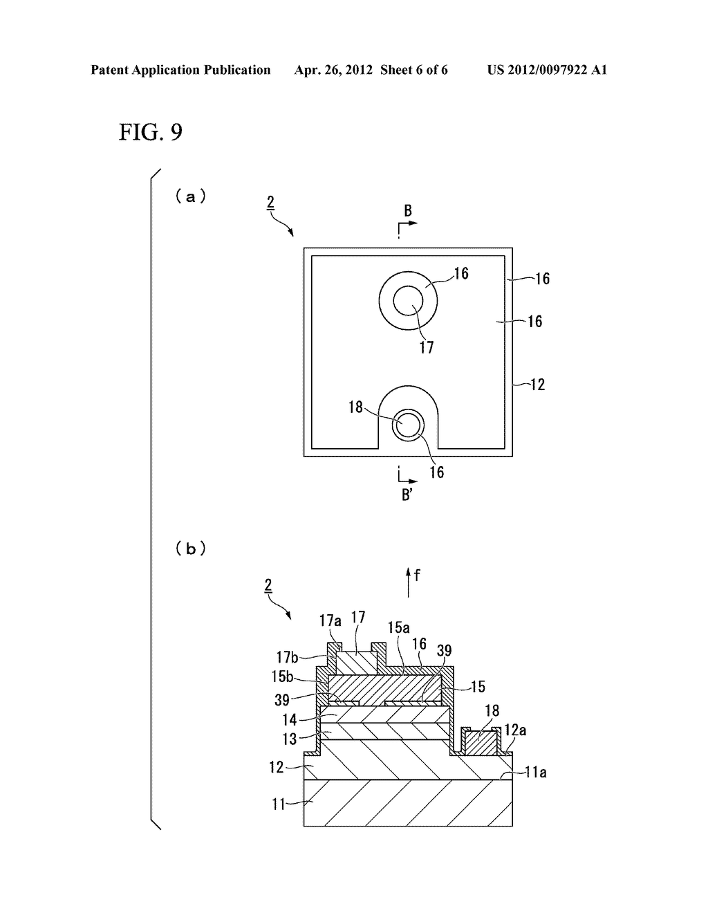 LIGHT EMITTING ELEMENT, METHOD OF PRODUCING SAME, LAMP, ELECTRONIC     EQUIPMENT, AND MECHINICAL APPARATUS - diagram, schematic, and image 07