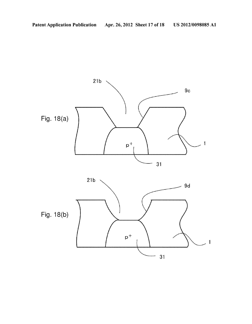 SEMICONDUCTOR DEVICE AND METHOD OF MANUFACTURING THE SAME - diagram, schematic, and image 18