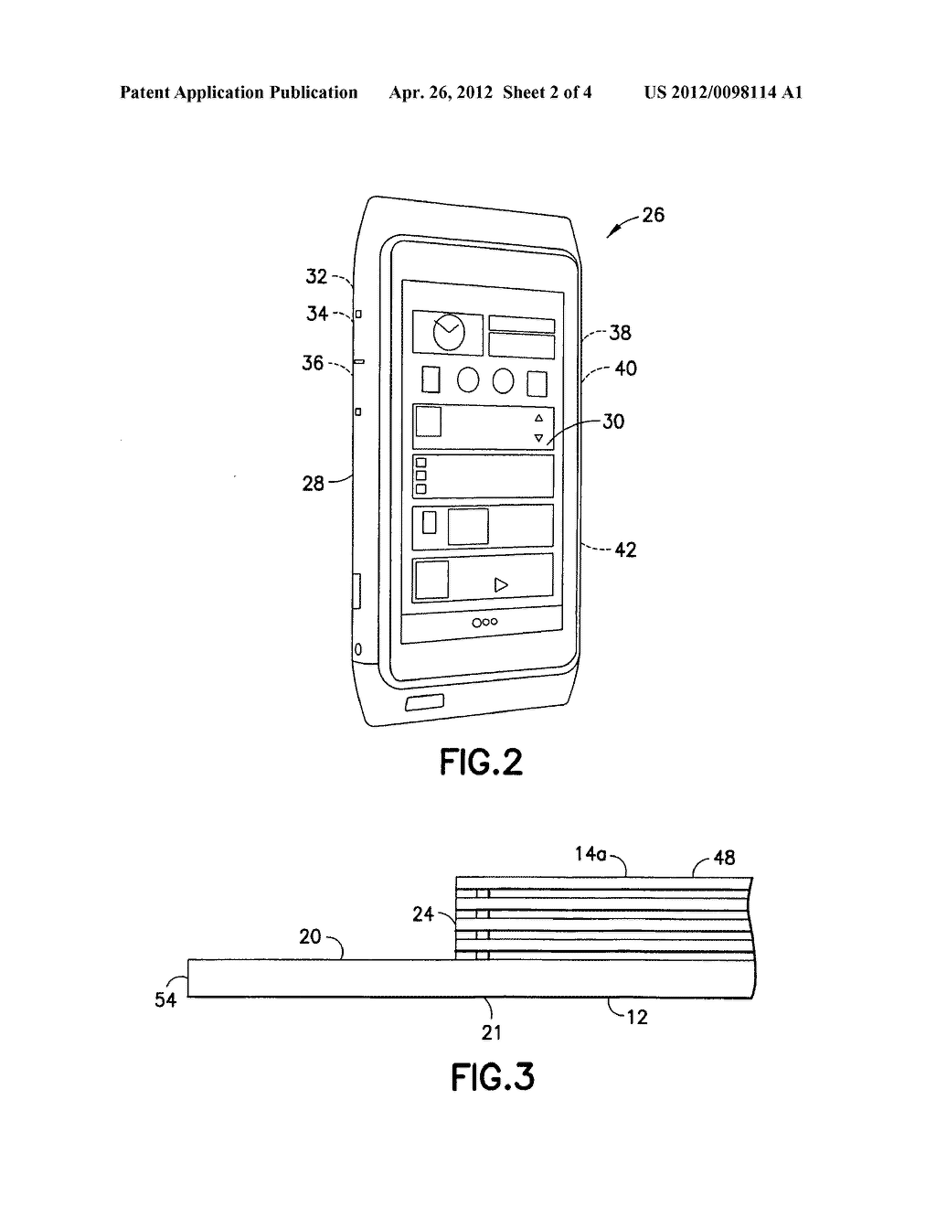 Device with mold cap and method thereof - diagram, schematic, and image 03