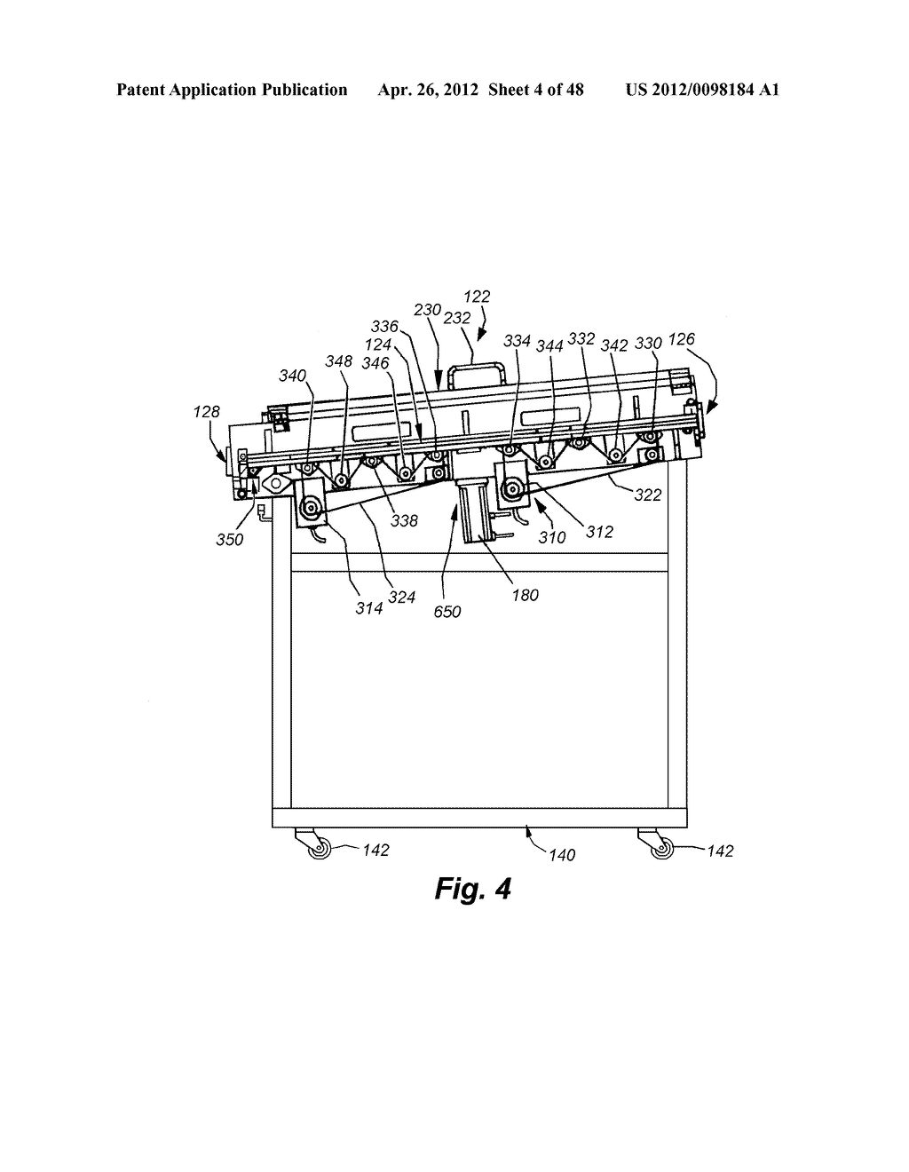 SYSTEM AND METHOD FOR INLINE CUTTING AND STACKING OF SHEETS FOR FORMATION     OF BOOKS - diagram, schematic, and image 05