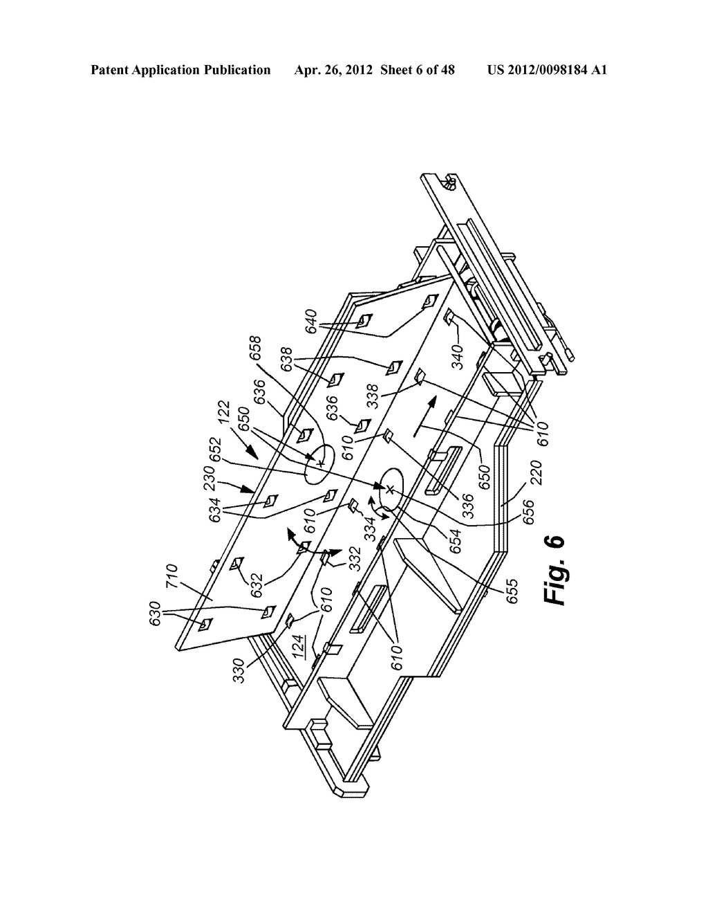 SYSTEM AND METHOD FOR INLINE CUTTING AND STACKING OF SHEETS FOR FORMATION     OF BOOKS - diagram, schematic, and image 07