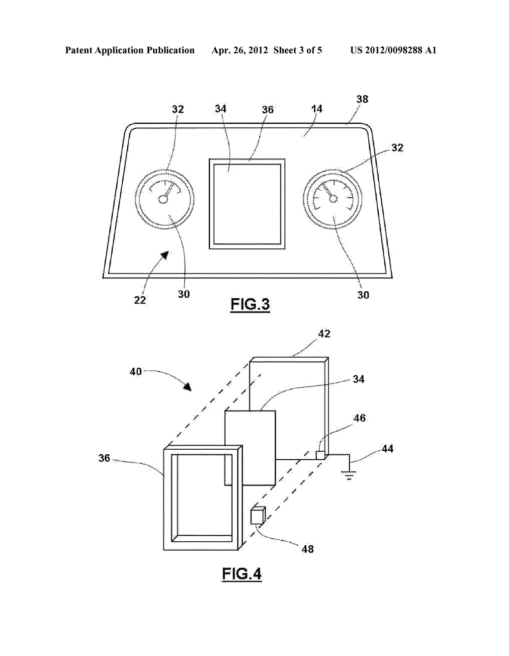SYSTEM AND METHOD FOR REDUCING ELECTROMAGNETIC INTERFERENCE FROM A     CONDUCTIVE INTERIOR TRIM COMPONENT - diagram, schematic, and image 04
