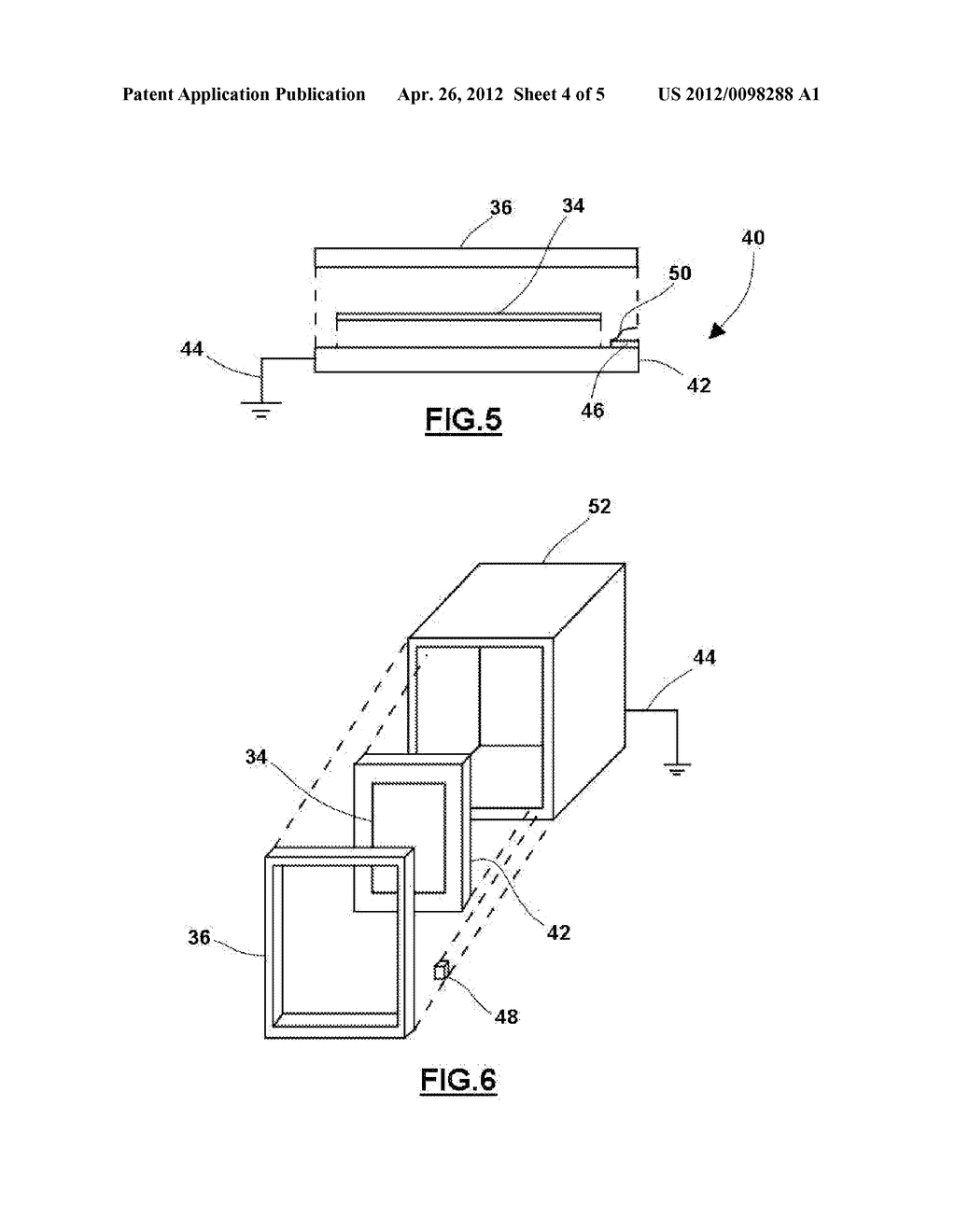 SYSTEM AND METHOD FOR REDUCING ELECTROMAGNETIC INTERFERENCE FROM A     CONDUCTIVE INTERIOR TRIM COMPONENT - diagram, schematic, and image 05