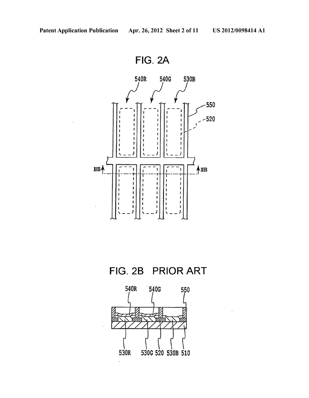 FLAT PANEL DISPLAY, INTERMEDIATE MANUFACTURED PRODUCT AND METHOD OF     MANUFACTURING SAME - diagram, schematic, and image 03