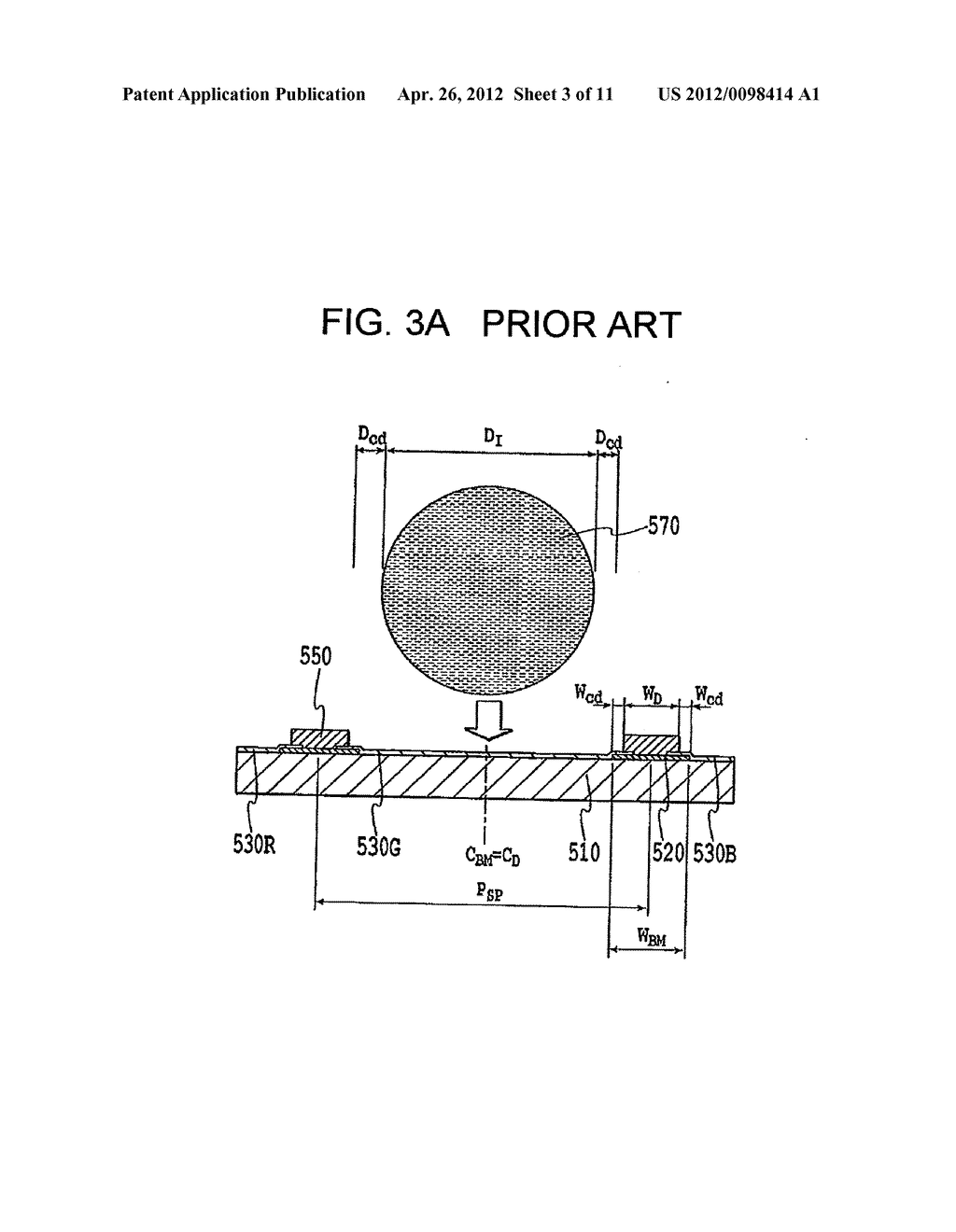 FLAT PANEL DISPLAY, INTERMEDIATE MANUFACTURED PRODUCT AND METHOD OF     MANUFACTURING SAME - diagram, schematic, and image 04
