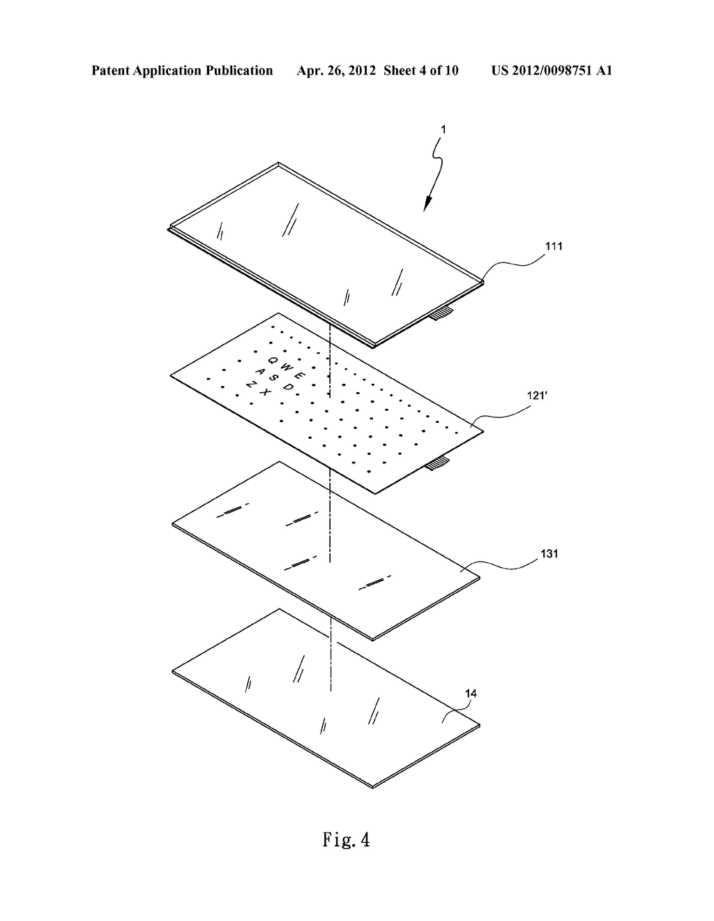 ILLUMINATED COMPUTER INPUT DEVICE - diagram, schematic, and image 05