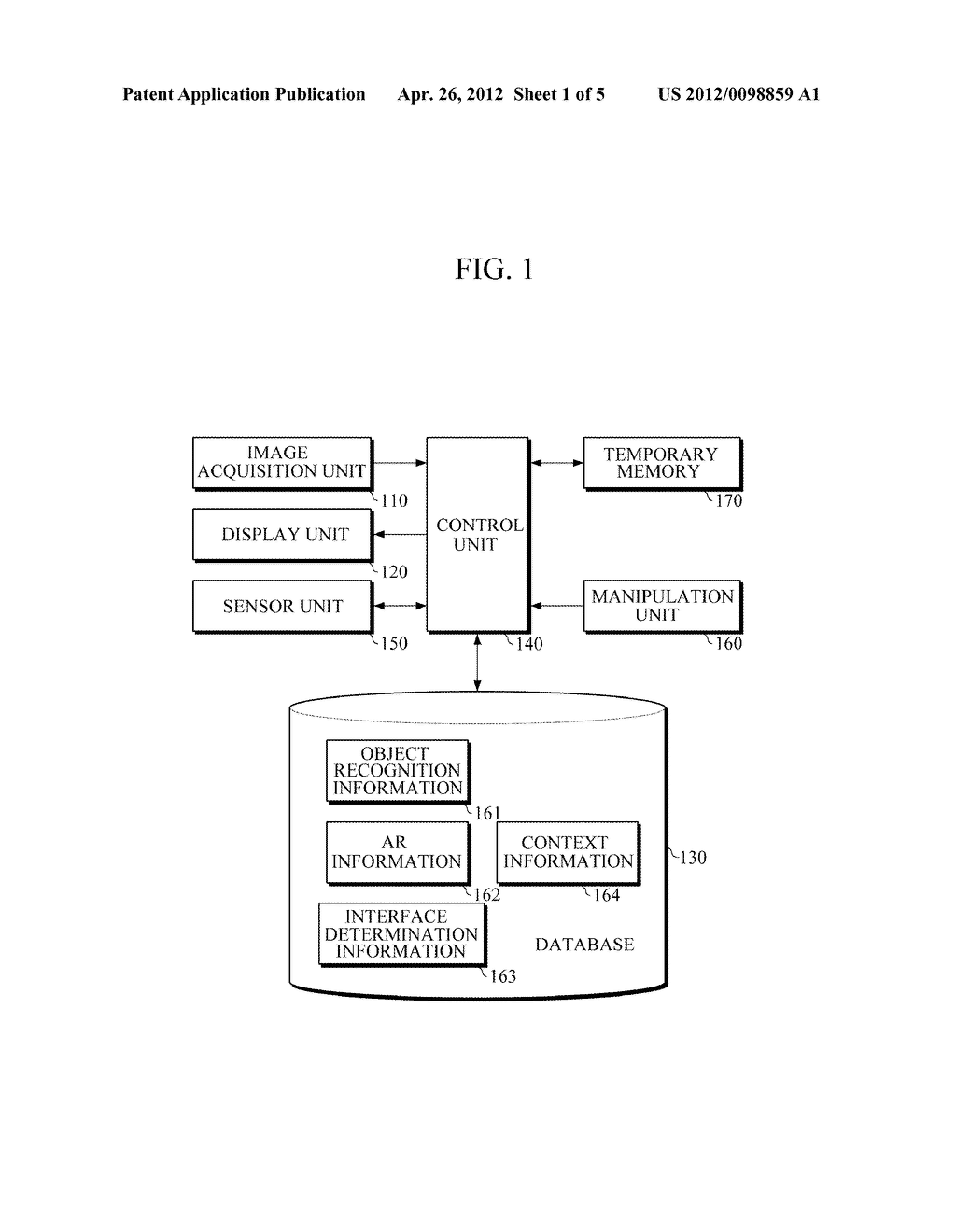 APPARATUS AND METHOD FOR PROVIDING AUGMENTED REALITY USER INTERFACE - diagram, schematic, and image 02