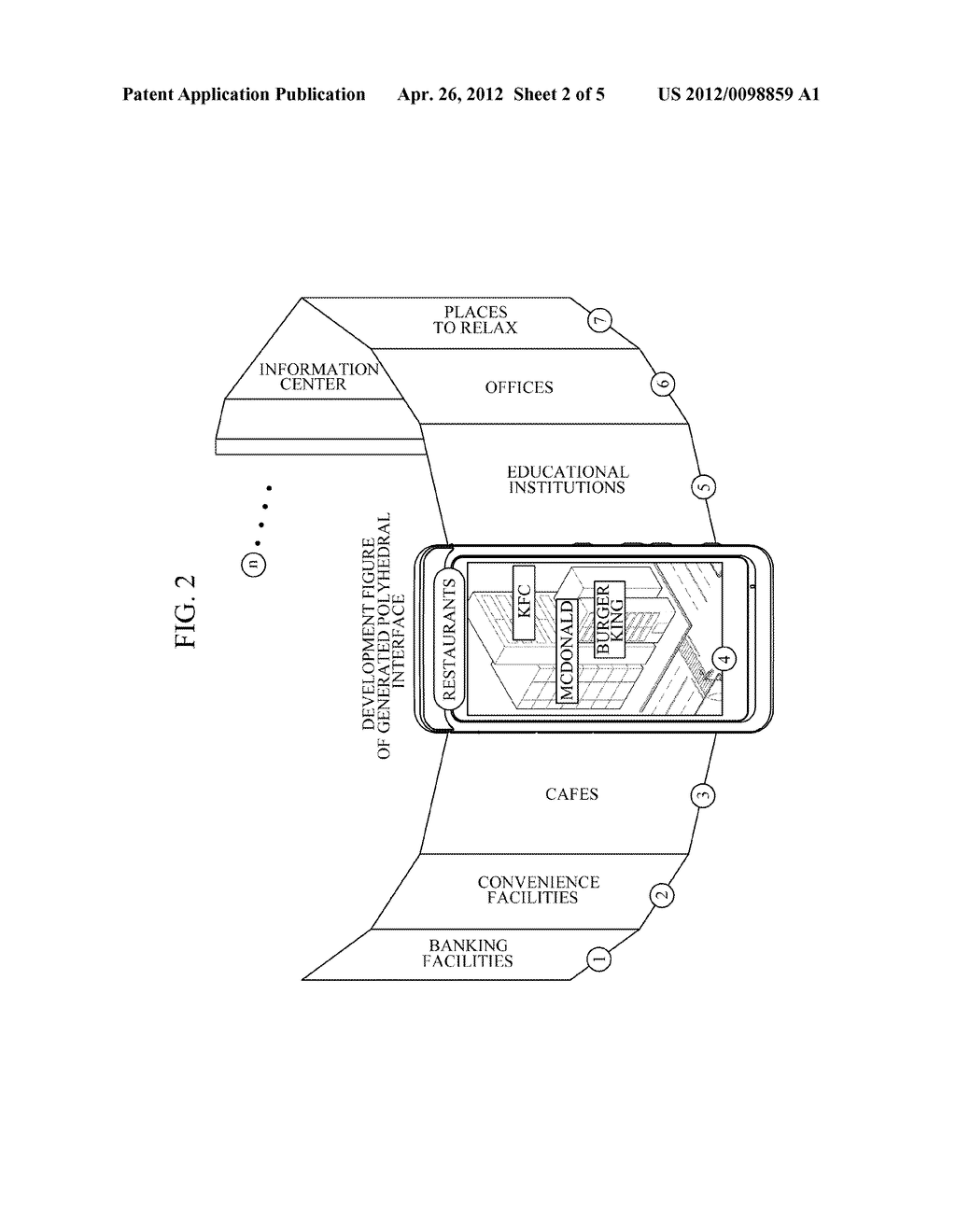 APPARATUS AND METHOD FOR PROVIDING AUGMENTED REALITY USER INTERFACE - diagram, schematic, and image 03