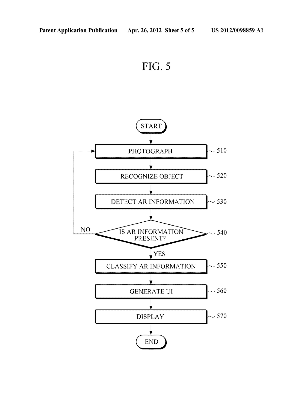 APPARATUS AND METHOD FOR PROVIDING AUGMENTED REALITY USER INTERFACE - diagram, schematic, and image 06